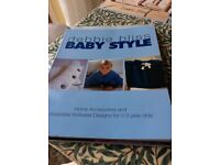 debbie Bliss Baby style knitting book