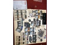 X wing miniatures game, decimator, lambda shuttle expansions and 2 tie fighters