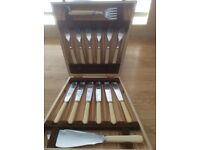 6 place setting - Fish knives and forks