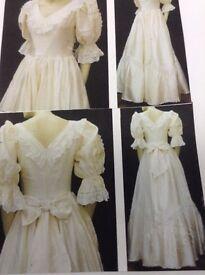 Vintage wedding. Dresses