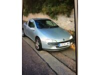 Vauxhall tigra 10 months mot not running at present for sale spares or repair £200