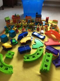 ELC Happy Street. Fantastic toy. Brilliant Christmas present. Bundle includes everything seen