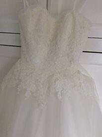 wedding dress (mori lee)