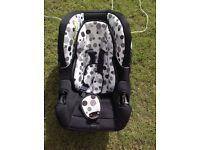 Kiddicare car seat from birth