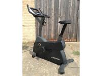 Life Fitness C1 Upright Exercise Bike (Delivery Available)