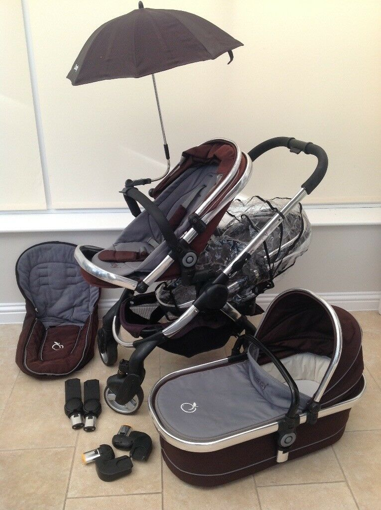 ddd25da5092f iCandy Peach Blossom Travel System in Blackjack