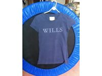 Jack Wills T-Shirt, Blue Size 8