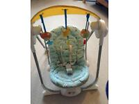 Chicco baby swing chair