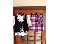 Highland Dance Kilt Outfit- child