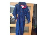 Ladies Blue Ski Suit