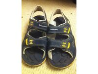 Authentic Timberland children's sandles size 13.5