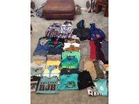 Large bundle of boys clothes