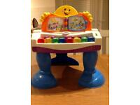 Fisher price musical piano