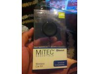Mitec Blutooth Wireless Car Kit To Talk while driving the car. NEW AND UNOPENED