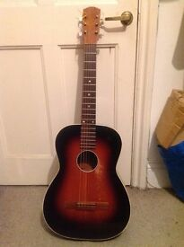 Rare vintage 1959 Levin acoustic guitar, player condition, made in Sweden, sweet!