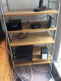 Computer shelving