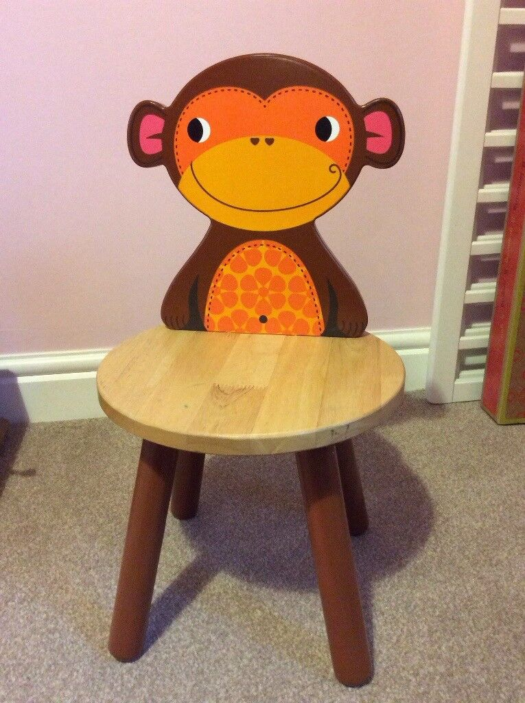 Tidlo safari monkey chair
