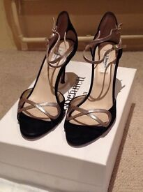 Ladies LK Bennet strappy shoes size 5