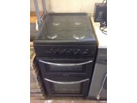 Gas Cooker Belling Free Standing Anthracite 500 Wide Little use