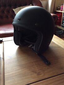Motorbike helmet and jacket