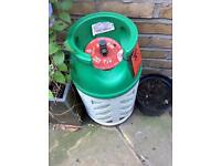 Gas canister for BBQ or patio heater. £15