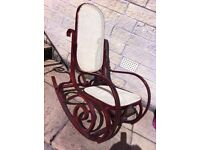Beautiful vintage reproduction rocking chair