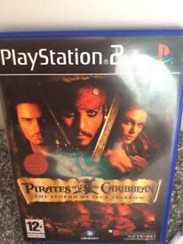 Pirates of the Caribbean PlayStation 2 game