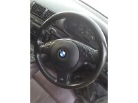 BMW E46 M Sport Multifunctional Steering Wheel