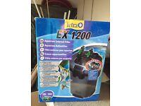 Tetra EX1200 aquarium external filter brand new!!!