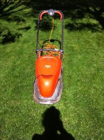 Flymo lawnmower for sale.