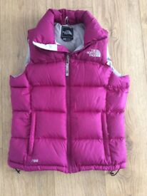 North Face women's gillet
