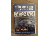 Hugo Learn German in 3 months CD set