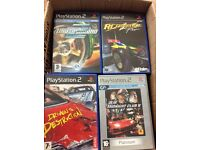 PlayStation 2 games.