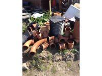Under ground soil pipe firings 4 in