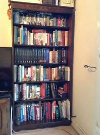 Dark wood bookcase - excellent condition FUTHER REDUCED
