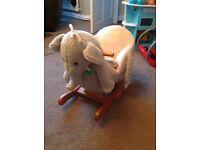 Musical rocking elephant