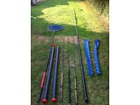 Fishing rods and carp pole equipment