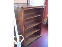 Solid Wooden Bookcase Book Shelves Shelving Unit Shelf Shelves / Can Deliver