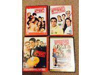 Job Lot DVDs & box sets approx 35