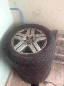 """VW 15"""" alloys"""
