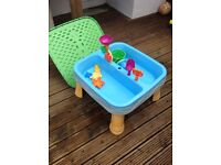 Water/Sand Table & Toys