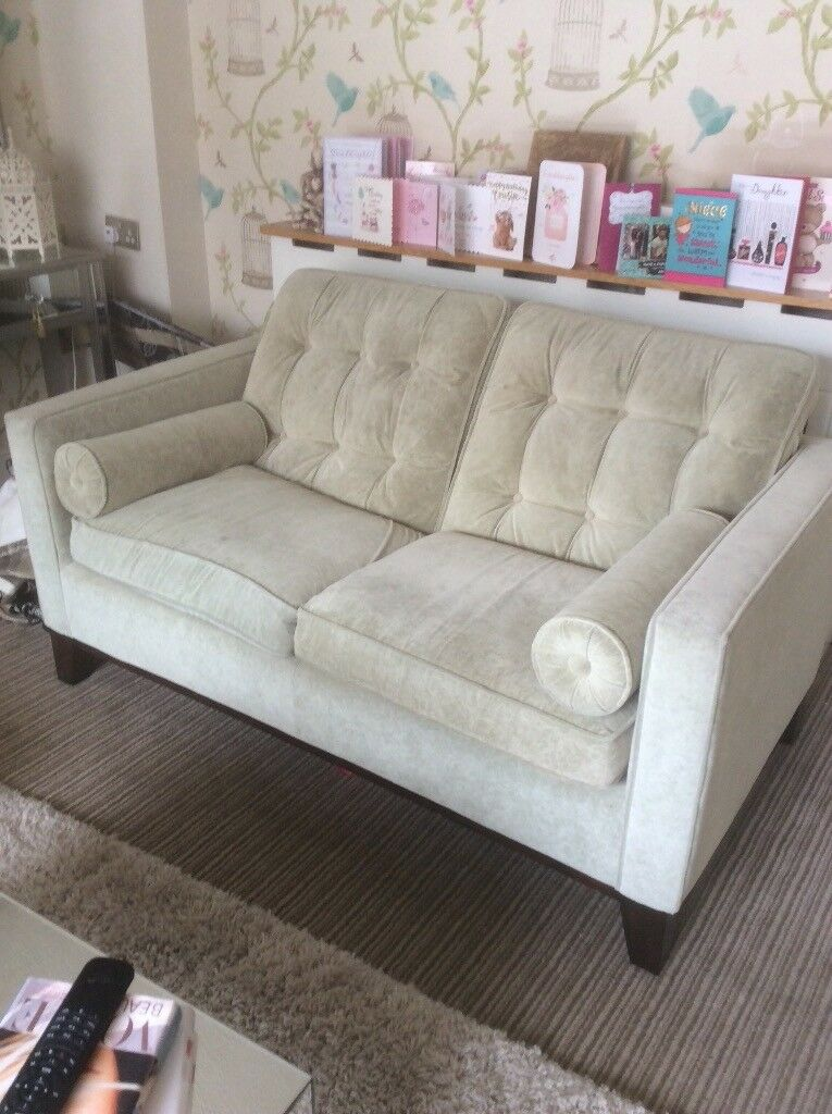 Couch And Two Accent Chairs.Pale Sage Green 2 Two Seater Velvet Sofas Including Accent Chair Excellent Condition Hardly Used In North Shields Tyne And Wear Gumtree