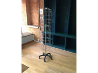 Free standing card display unit - 42 spaces