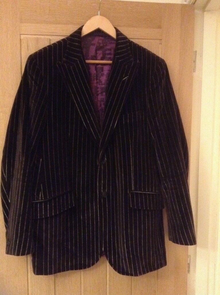 cb72fff8d2d5d Ted Baker men s pinstripe blazer jacket size 42R (large) very good condition