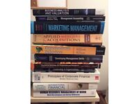 MBA Books for sale - Excellent condition - £220 for entire set. Individual available