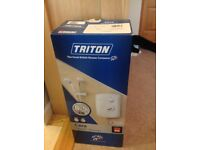 New boxed Triton Cara 8.5kW shower