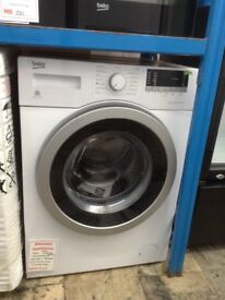 Beko white 8kg 1400spin washing machine. A+++ energy rated. New/graded. 12 month Gtee