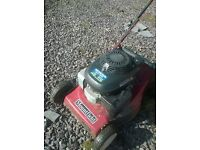 Mountfield self propelled motor mower..Honda engine. Easy starter