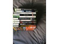 Joblot of Xbox360 games