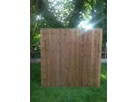6x6 Closeboard Panel